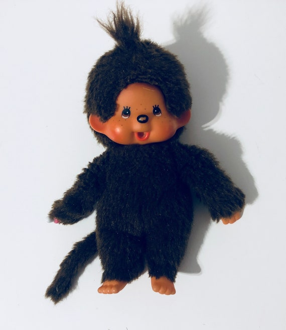 Mattel Sekiguchi Monchhichi Plush Doll 7.5