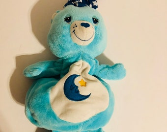 Carebear baby bedtime bear crib toy pull and play music lullaby