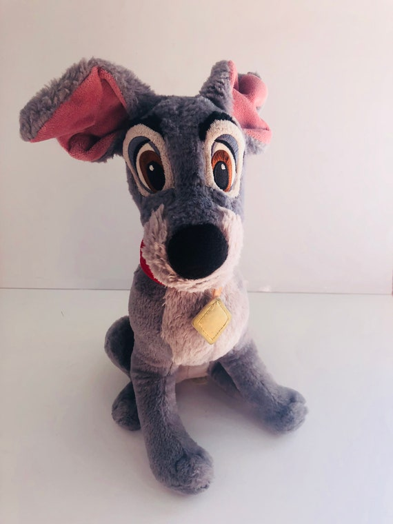Vintage Disneys Lady And The Tramp Tramp Plush Toy Stuffed Etsy