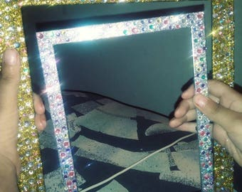 Blinged Picture Frames