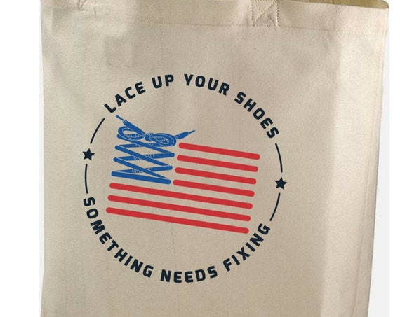 Obama Speech / 100% Organic Cotton Tote