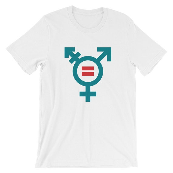 Transgender Pride Shirt -  Short-Sleeve Unisex T-Shirt