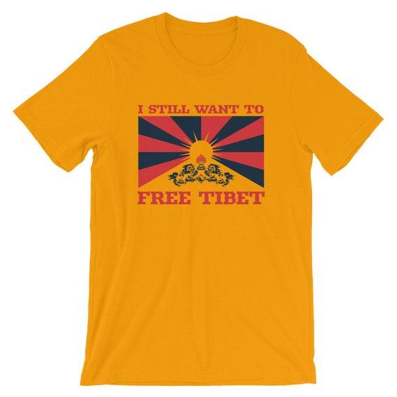 Free Tibet - Short-Sleeve Unisex T-Shirt