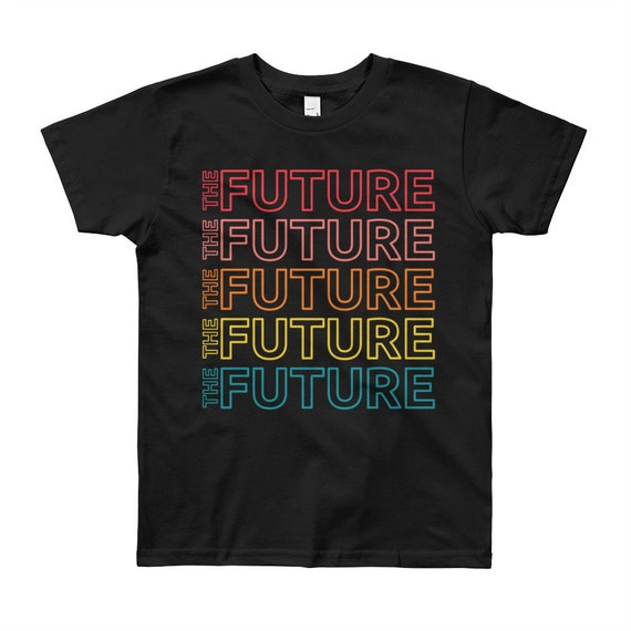The Future Youth Empowerment Short Sleeve T-Shirt - Multicolor, 8-12yrs