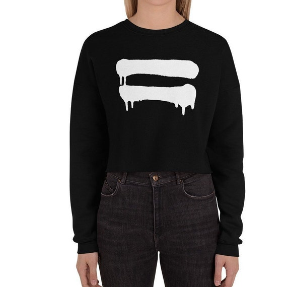 Equal Signs - Equality for All Crop Sweatshirt