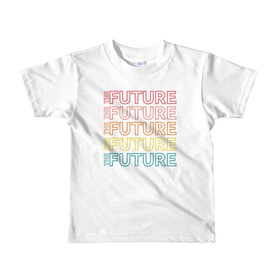 The Future Youth Empowerment Short Sleeve T-Shirt - Multicolor, 2-6yrs