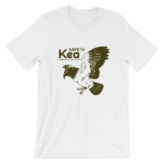 Endangered Species Shirt -Save the Kea - Short-Sleeve Unisex T-Shirt