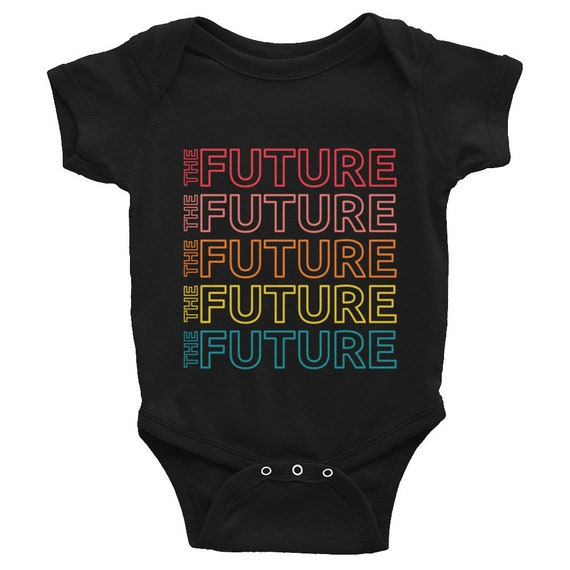 The Future Empowerment Infant Body Suit Short Sleeve - Multicolor