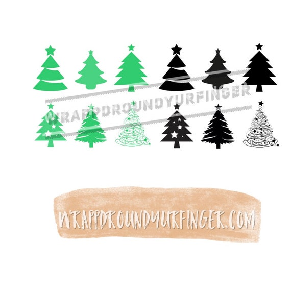 Christmas Tree Transparent Background.Christmas Trees Transparent Background Black Or Green