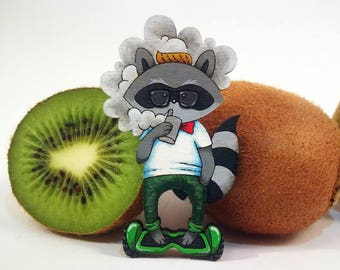 Hipster Raccoon