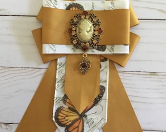 Monarchs and Cameos brooch