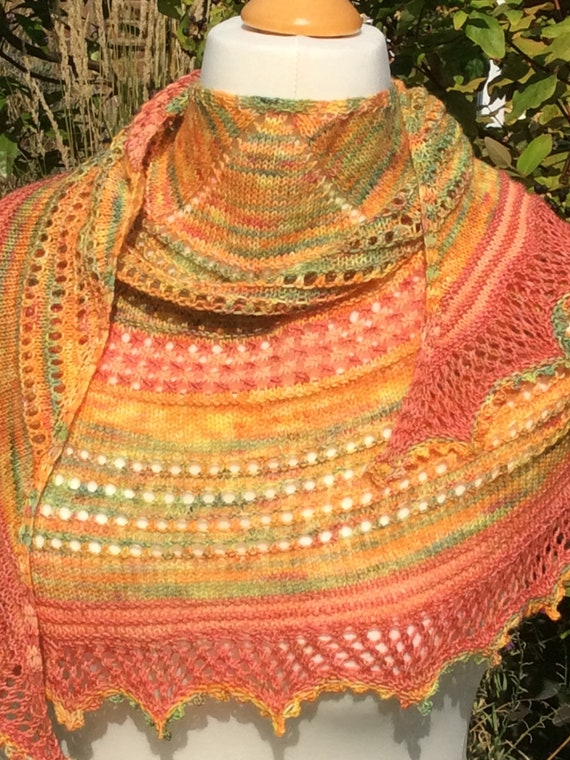 Harvest in the Wolds knitting pattern