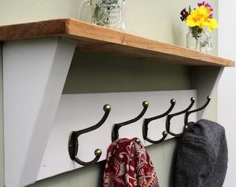 Coat Hook Shelf | Etsy