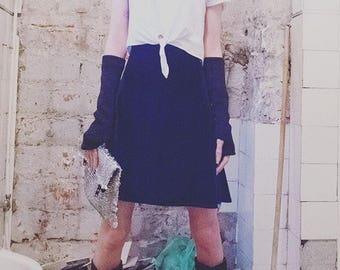 Velvet A skirt
