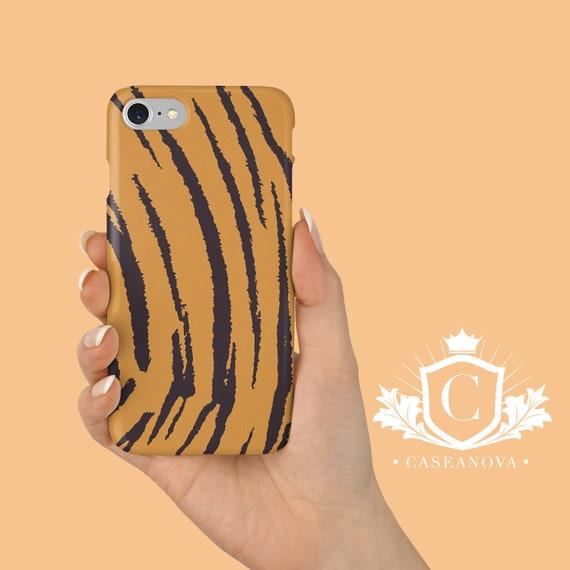 iPhone 7 case, Tiger Stripes Phone Case, iPhone 8 case, iPhone X case, iPhone 6 case, Samsung S8 case, Samsung S9 case - CN-205