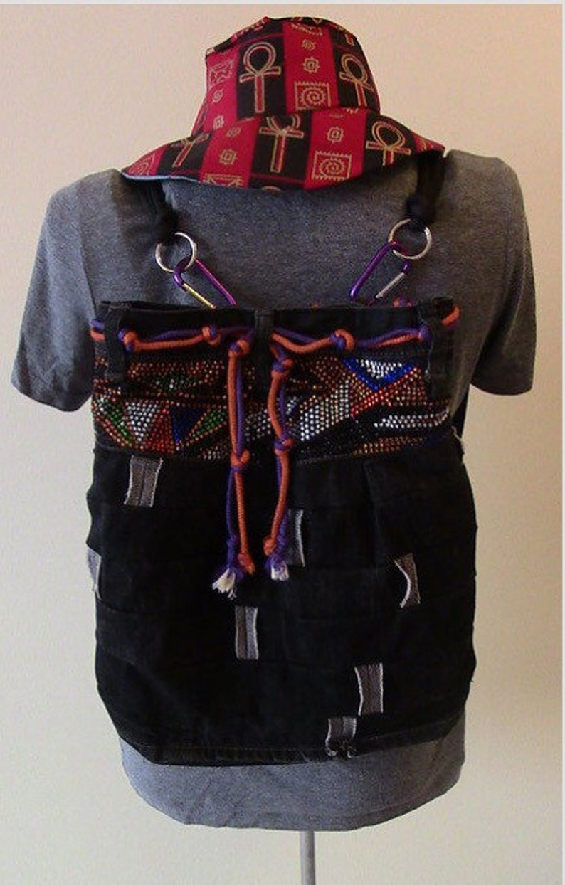 Convertible Upcycle Backpack