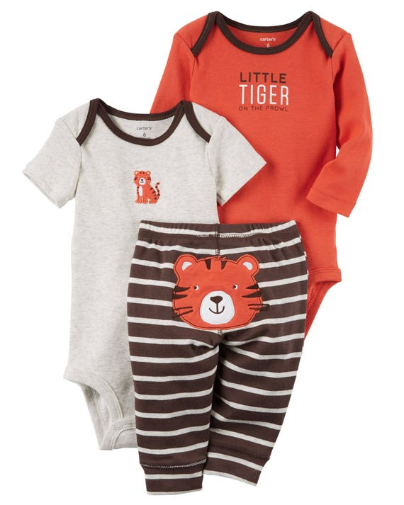 NEW Carter/'s Boys 3-Piece Matching Outfit Set