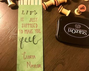 Bookmark - Gloria Naylor