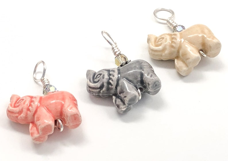 Snag Free Gifts for Knitter Elephant Stitch Markers for Knitting with Anti Tarnish Wire