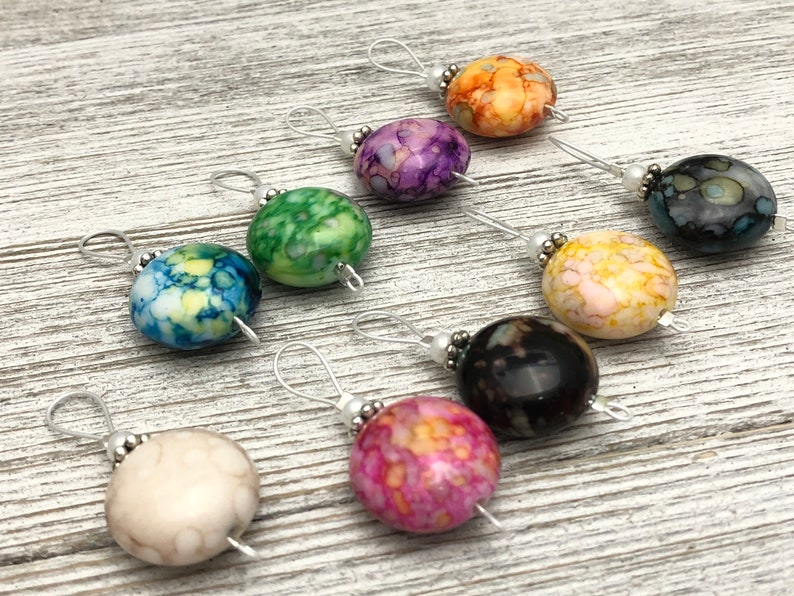 Wire Loop Stitch Marker Set for Knitting Gift for Knitters Snag Free