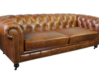 Chesterfield Sofa Etsy