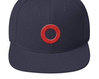 e85516703a110 Fishman Donut Flatbill Snapback Hat