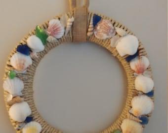 A Beach/Seashell Wreath