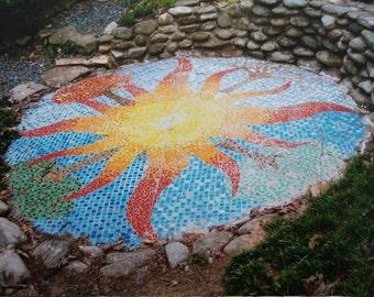 Photo: Sun Mosaic