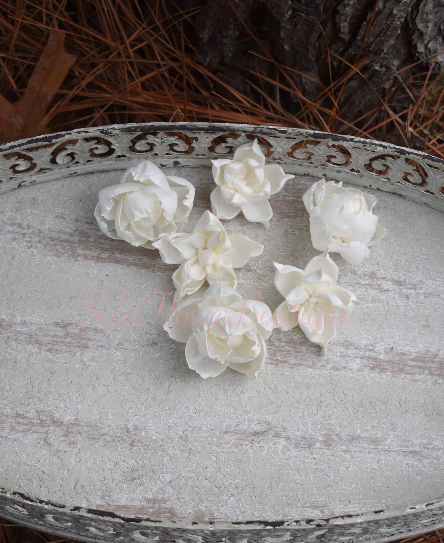 Dozen 12 sola flowers sola wood flower diy sola flower ivory etsy zoom izmirmasajfo