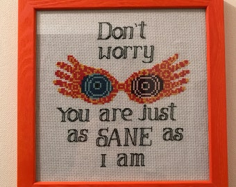 Cross stitch chart / Cross Stitch - Luna Lovegood.