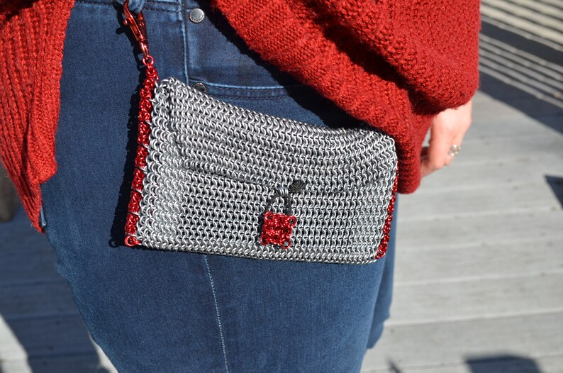 Chainmaille Belt Pouch