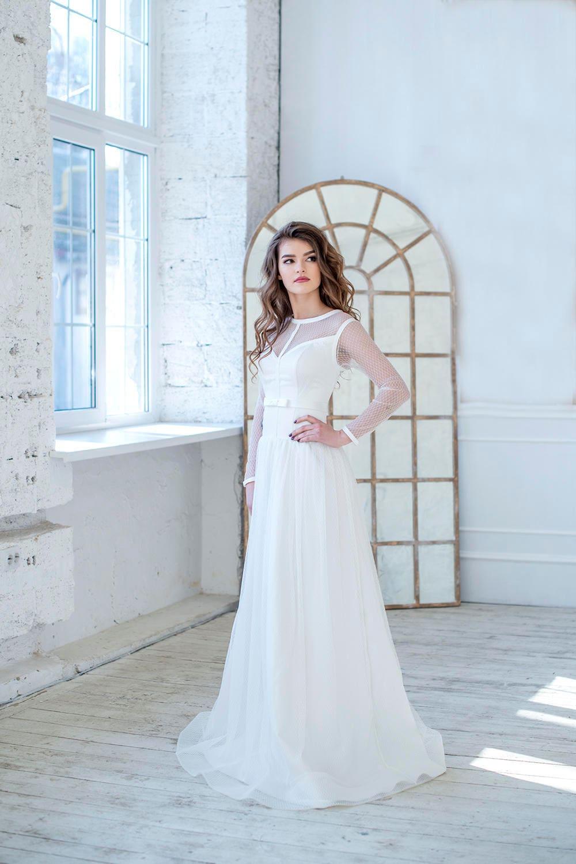bc490a9fa46 Polka dot wedding dress tulle wedding dress wedding dress