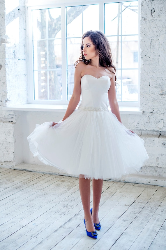 Short Wedding Dresses with Corset, Short Corset Wedding Dress,Short Corset Wedding Dress,Tea Length Corset Wedding Dresses,Strapless Tea Length Corset Wedding Dresses,Corset Short Wedding Dress,