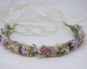 Hair wreath 'Limonium'