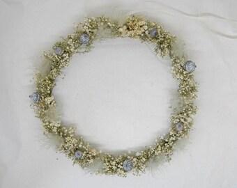 Dry wreath 'Veilkraut'