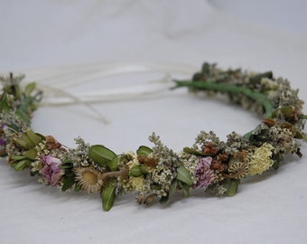 Hair wreath 'Woodelfe' (regional, nature-friendly cultivation)