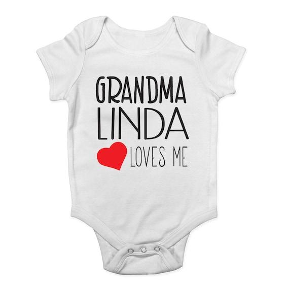 My heart belongs to my Grandma BabyGro Sleepsuit Boy//Girl//Unisex
