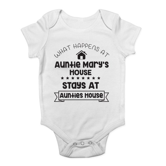 Shopagift Baby I Get My Good Looks from My Uncle Sleepsuit Romper