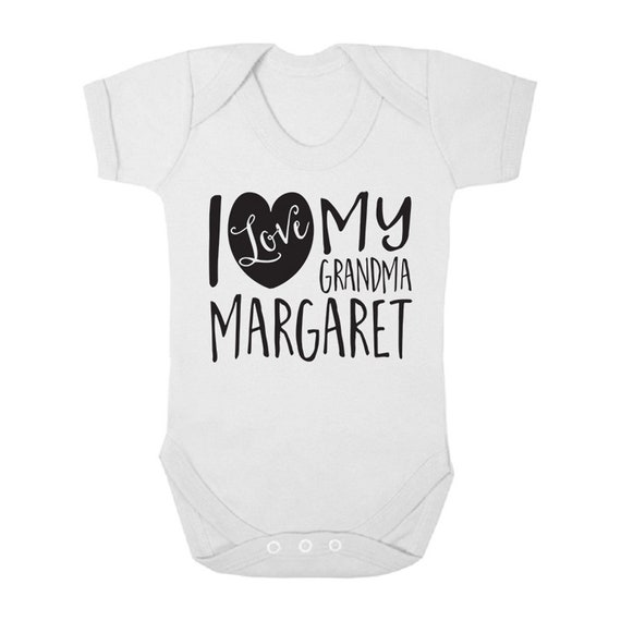 Shopagift Baby Personalised Any Name My Cousin Loves Me Sleepsuit Romper
