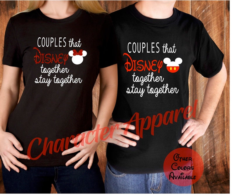 9c3ac88a Couples that Disney together stay together Couples Disney | Etsy