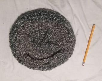 Adult crochet beret