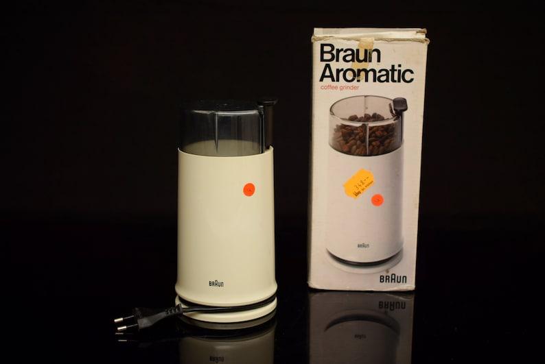 vintage BRAUN Aromatic KSM 2 Coffee Grinder Retro Spain Mid Century