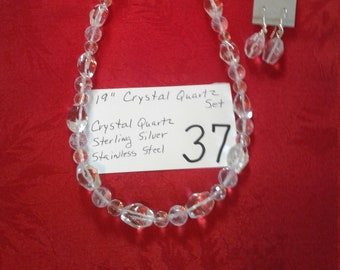 Crystal Quartz Set