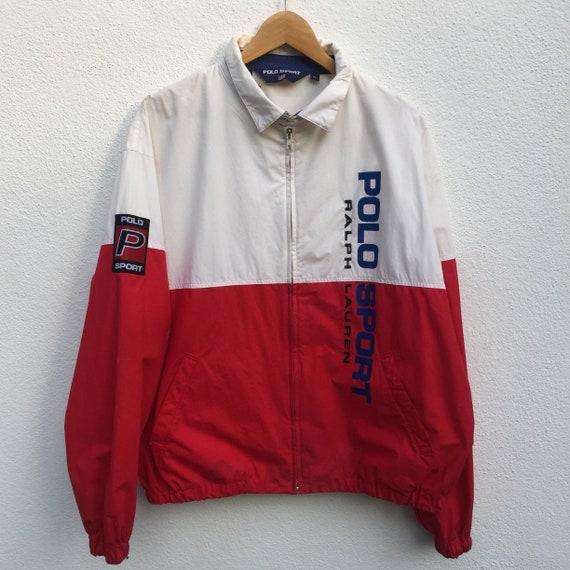 POLO SPORT vintage 90s polo sport colourblok jacke
