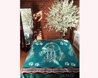 Beautiful Alpaca Blanket From Ecuador