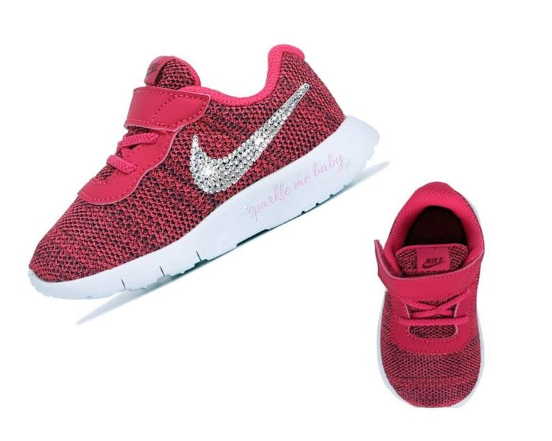 041cbdf1a461 FREE SHIPPING Nike Tanjun Baby Sneakers in Rush Pink