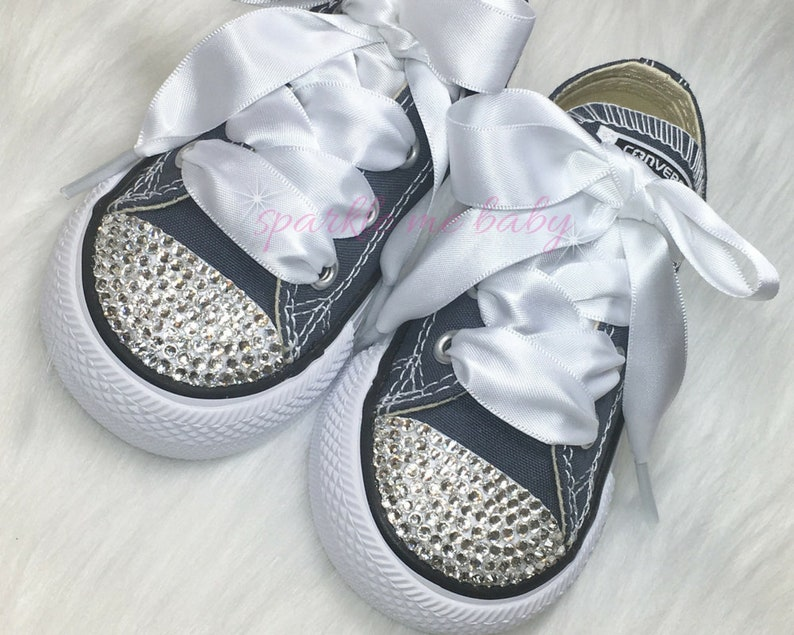 90c6807707a3 Baby Converse Custom Converse Bling Infant   Toddler
