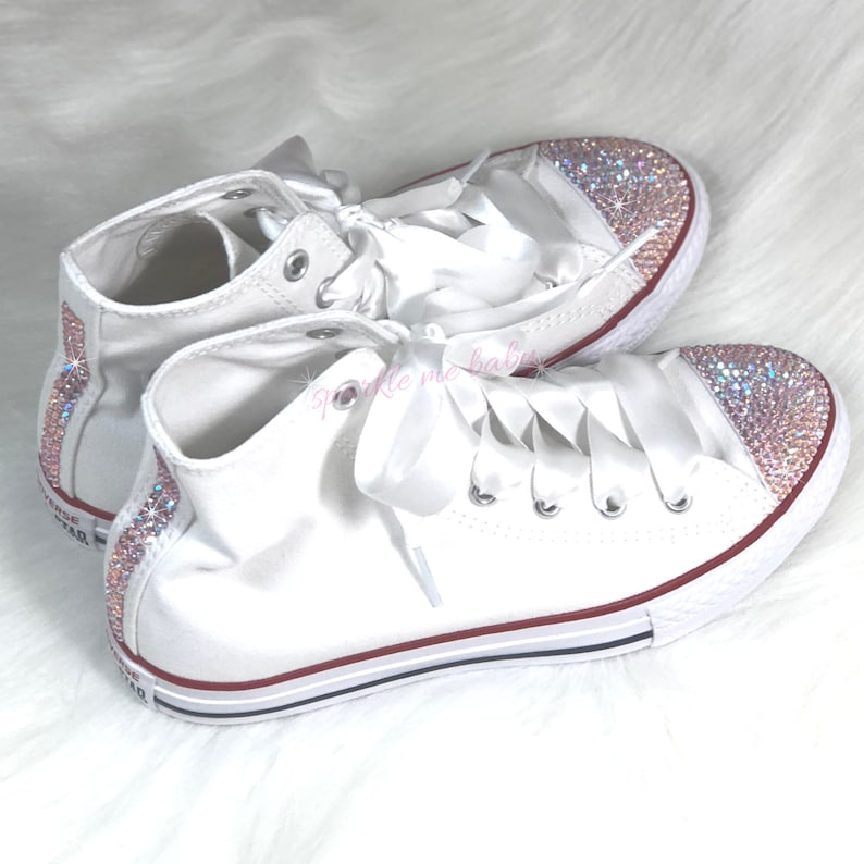 8df1a4083 Kids Converse Bling Converse Customized Converse | Etsy