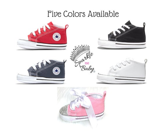 Baby Converse Custom Converse Bling Infant 5 Colors Soft  f69520922