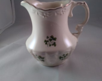 Torc Embossed Ware Cream Pitcher From Carrigaline County Cork Ireland